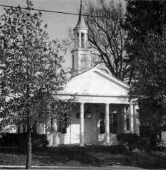 Original St. Patrick Church on 7th and State as it is today (now Church of Christ Scientist). It was the first building in Rolla built exclusively for religious services.